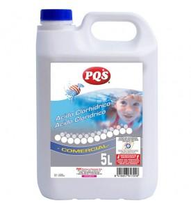 Ácido Clorhídrico 23Kgs PQS