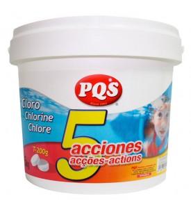 Cloro 5 acciones 1Kg PQS
