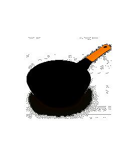 Sartén BRA EFFICIENT Orange 26CM