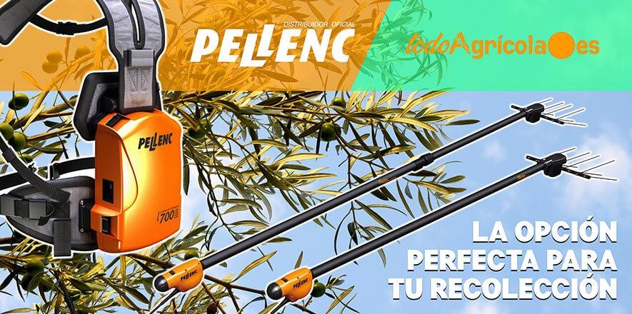 Somos distribuidor oficial Pellenc